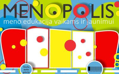Kviečiame vaikus į MENOPOLIO vasaros stovyklą!