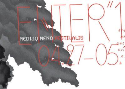 Medijų meno festivalis ENTER'16