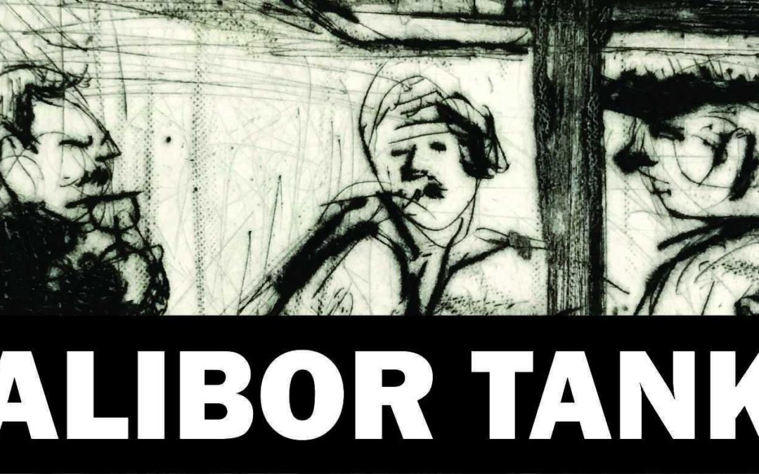 """Daliboro Tanko (Paryžius) grafikos paroda """"Portretai: diena iš dienos"""""""
