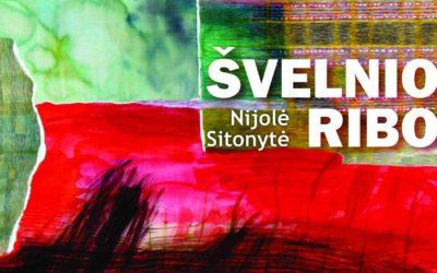 Nijolės Sitonytės tekstilės kūrinių paroda ŠVELNIOS RIBOS