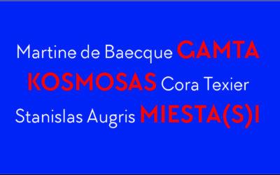 Prancūzų grafikos paroda GAMTA – KOSMOSAS – MIESTA(-S)I