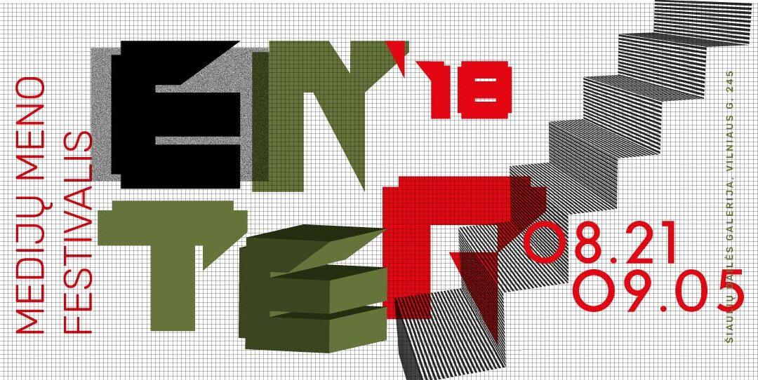 Medijų meno festivalis ENTER'18