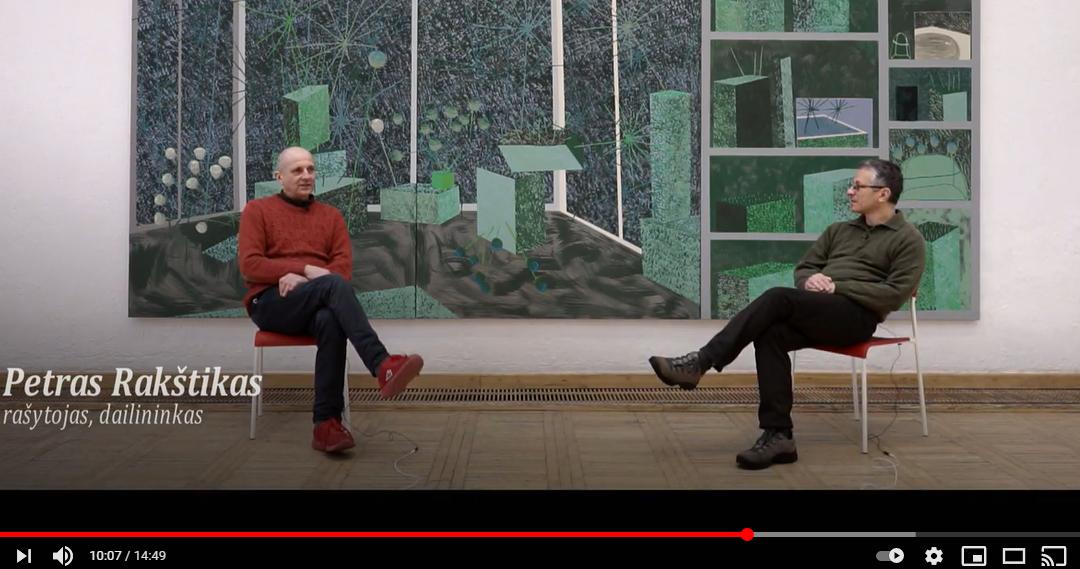 """Pokalbis su menininku Petru Rakštiku apie naujai rengiamą jo knygą """"Paveiksliukai"""""""