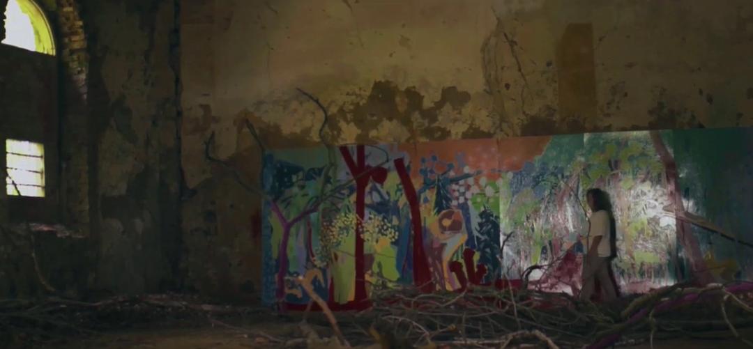 "Sandros Strele ekspozicija ""Parodos, kurios niekada neįvyko"" video formatu"